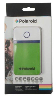 Polaroid 3500 mAh powerbank groen