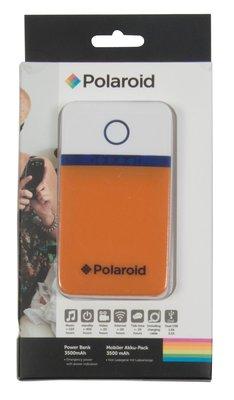Polaroid 3500 mAh powerbank oranje