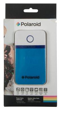 Polaroid 3500 mAh powerbank blauw