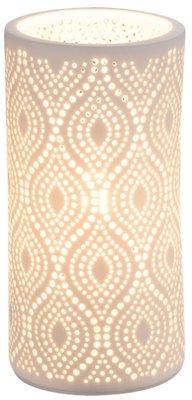 Globo Cendres oval tafellamp