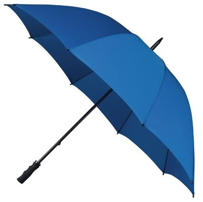Falcone windproof golfparaplu blauw