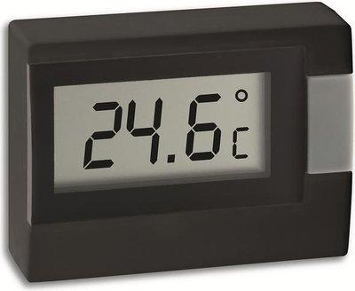 TFA Digi black thermometer