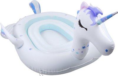 Mega Inflatable Island Unicorn - 6 personen
