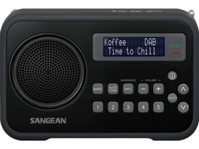 Sangean DPR-67 zwart DAB+ radio