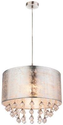 Globo Amy silver deco crystals hanglamp