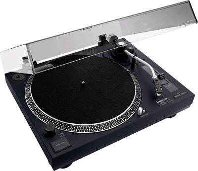 Lenco L-3808 black platenspeler