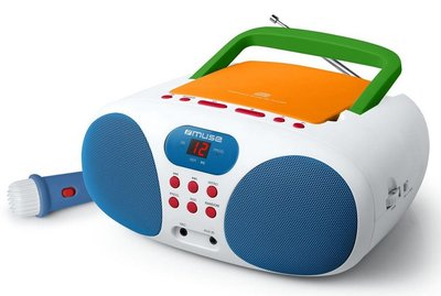 Muse MD-203KMC draagbare karaoke radio