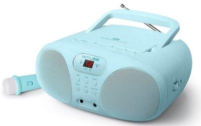 Muse MD-203KB draagbare karaoke radio