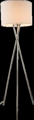 Globo Gustav white vloerlamp 160 cm