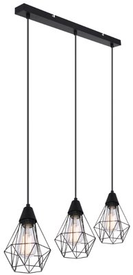 Globo Isabella three lamp holders hanglamp