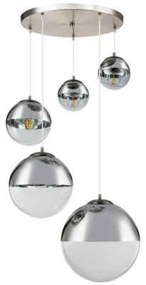 Globo Varus five lamp holders hanglamp