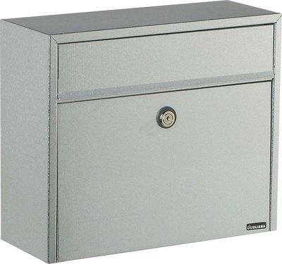 Allux LT150 Ruko zilver brievenbus