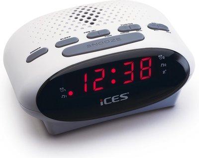 Ices ICR-210 wit wekkerradio
