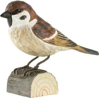 Wildlife Garden Ringmus uit hout