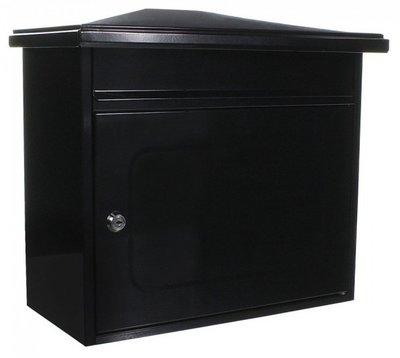 Rottner Tresor Wörthersee zwart brievenbus