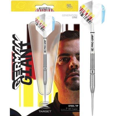 Target Gabriel Clemens 90% steeltip dartpijlen