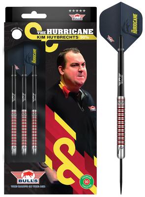 Bull's Kim Huybrechts 90% PCT steeltip dartpijlen