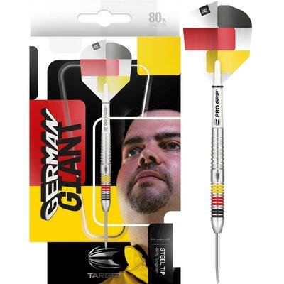 Target Gabriel Clemens 80% steeltip dartpijlen