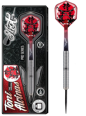 Shot Pro Series Toni Alcinas 80% steeltip dartpijlen