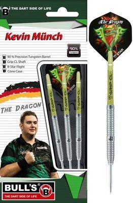 Bull's Kevin Münch Generation II 90% steeltip dartpijlen
