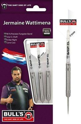 Bull's Jermaine Wattimena 90% steeltip dartpijlen