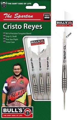 Bull's Cristo Reyes 90% steeltip dartpijlen