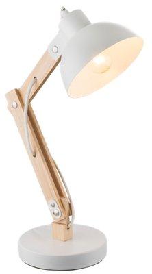Globo Jeff white tafellamp