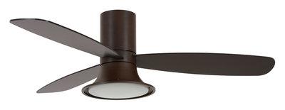 Beacon Flusso dark koa plafondventilator 132 cm