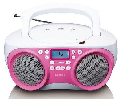 Lenco SCD-301PK draagbare radio