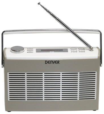 Denver DAB-37 grijs DAB+ radio