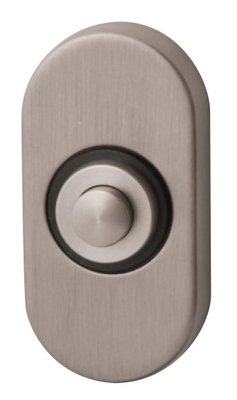 Studio Mariani Ovaal 2.0 inox deurdrukker