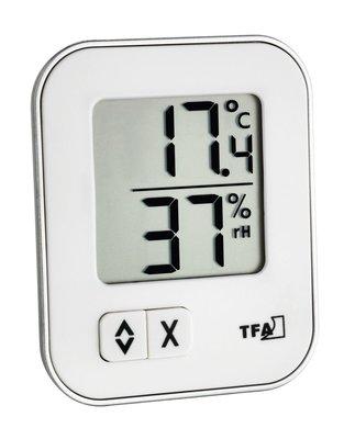 TFA Moxx white thermometer