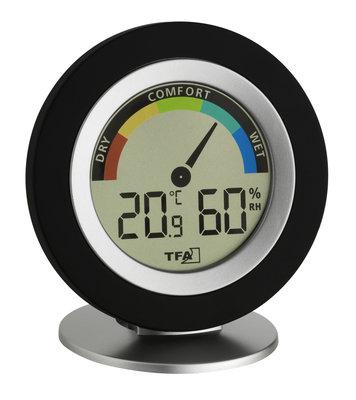 TFA Cosy black thermometer