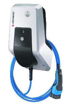 Mennekes Amtron Basic E 7.4 kW Type 2 wandlader - met vaste kabel