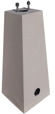 Mennekes Amtron Compact betonsokkel