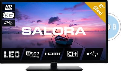 Salora 32HDB6505 HD-ready 32 inch tv + dvd