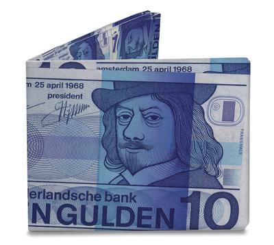 Mighty Wallet Dutch 10 Guilder