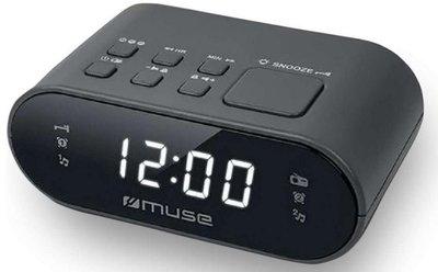 Muse M-10 CR zwart wekkerradio