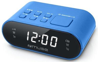 Muse M-10 BL blauw wekkerradio