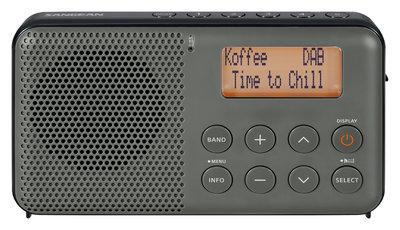 Sangean DPR-64 grijs/zwart DAB+ radio