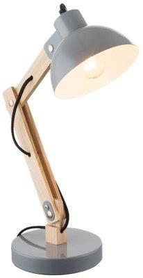 Globo Jeff grey tafellamp