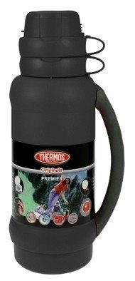 Thermos Premier zwart thermosfles 1.8 liter