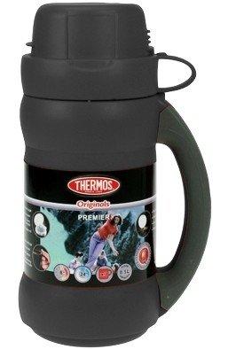 Thermos Premier zwart thermosfles 0.5 liter