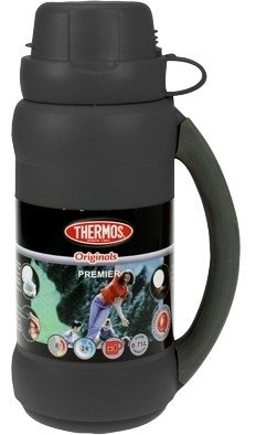 Thermos Premier zwart thermosfles 0.75 liter
