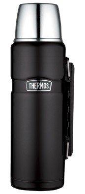 Thermos King Matzwart thermosfles 1.2 liter