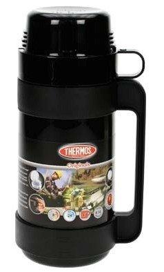 Thermos Mondial zwart thermosfles 0.5 liter