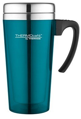 Thermos Soft Touch Turquoise thermosbeker 0.425 liter