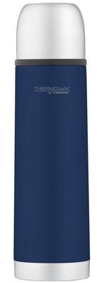 Thermos Soft Touch blauw thermosfles 0.5 liter