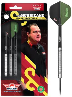 Bull's Kim Huybrechts 80% Plain steeltip dartpijlen
