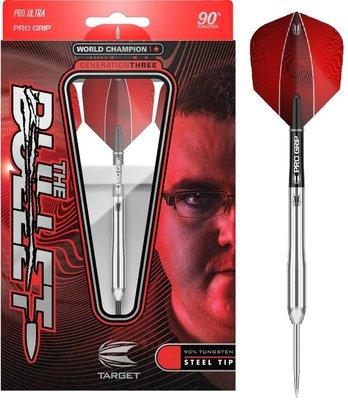 Target Stephen Bunting Generation 3 90% steeltip dartpijlen